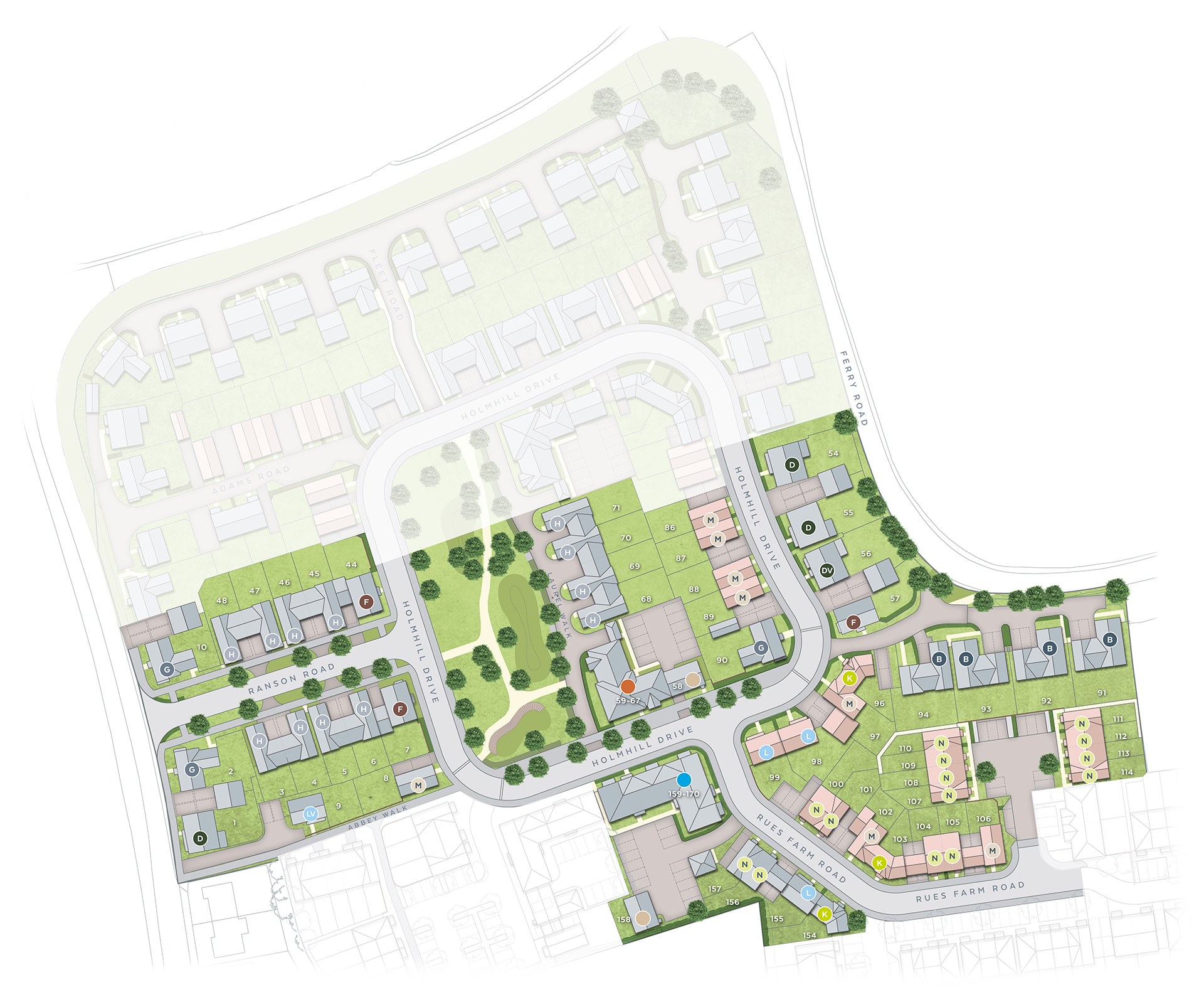 Siteplan Image - Full color